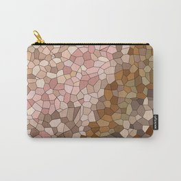 Skin Tone Mosaic Carry-All Pouch