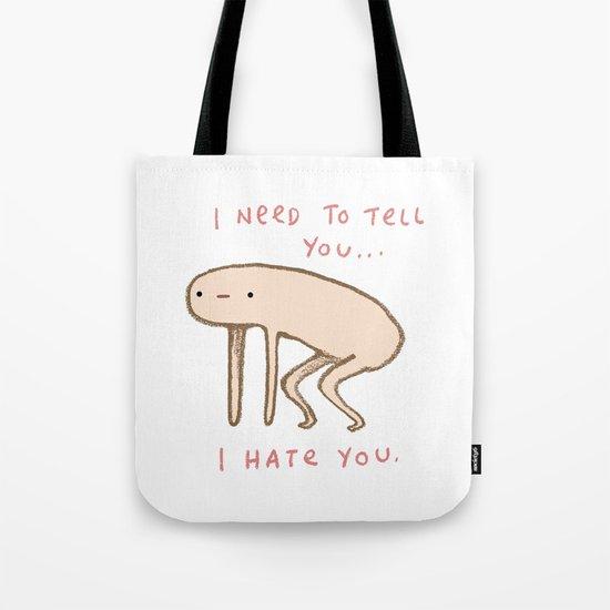 Honest Blob - Hate Tote Bag