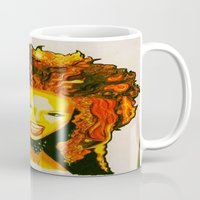 spice Mugs featuring Scary Spice by The Expression Studio