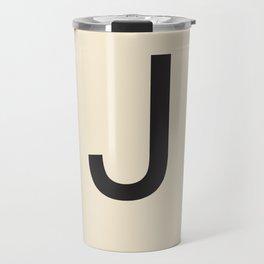 Scrabble J Travel Mug