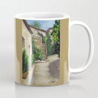 arab Mugs featuring Arab Baths in Palma DP150724a by CSteenArt