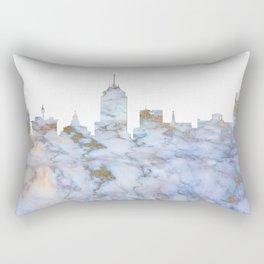 Fresno Skyline California Rectangular Pillow