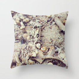 SandShells Throw Pillow