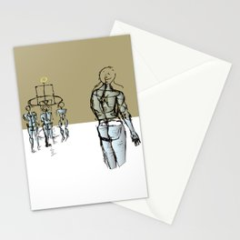 Glass people Stationery Cards