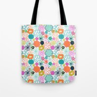 chelsea Tote Bags featuring Chelsea by Elephant & Rose
