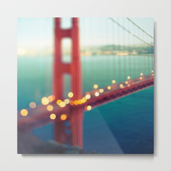 Meet Me In San Francisco Metal Print