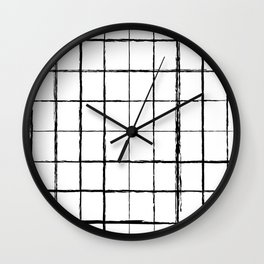 Chicken Scratch #619 Wall Clock