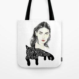In the world of purrr Tote Bag