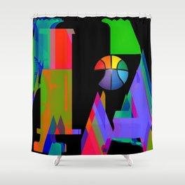 Chasoffart-Mia 2a Shower Curtain