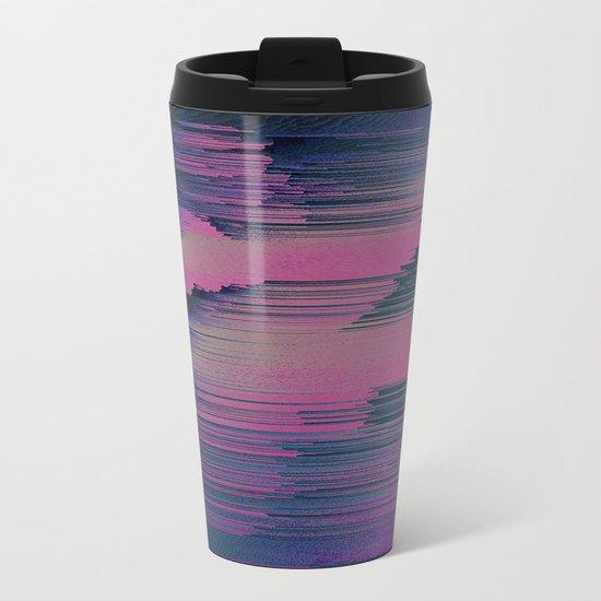 Tickled Pink Metal Travel Mug