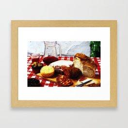 Fast Food - Spain Framed Art Print
