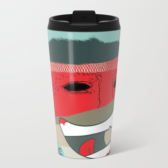 Buy Me!!! Metal Travel Mug