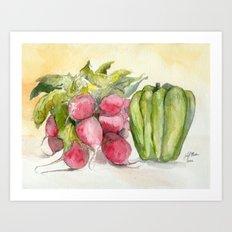 Produce I Art Print