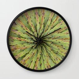 Succulent symphony Wall Clock