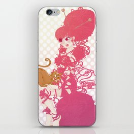 Pin'up de laine iPhone Skin