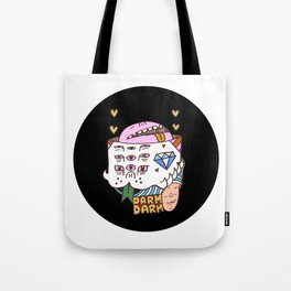 Levitating Head Tote Bag