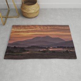 Scotland Ben Nevis mountain at sunrise Rug