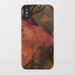 Monarch of Autumn iPhone Case