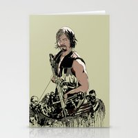 daryl Stationery Cards featuring Daryl Dixon by Huebucket