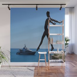 Touch The Yacht Wall Mural