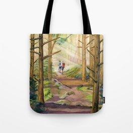 Walk Into The Light Tote Bag