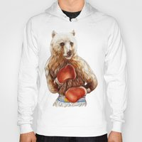 foo fighters Hoodies featuring Bear Fighters. by beart24