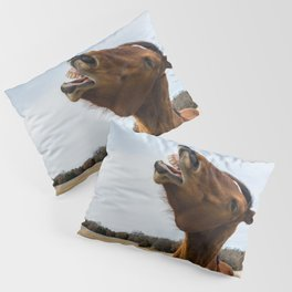 Laugh and the world laughs with you Pillow Sham