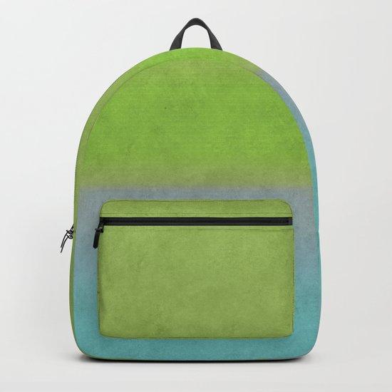 Green greenery greenish Backpack