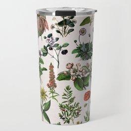 vintage botanical print Travel Mug