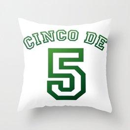 Mexico Cinco De Mayo May 5th Throw Pillow