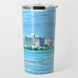Madison Skyline Travel Mug