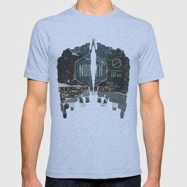 666 miles north T-shirt