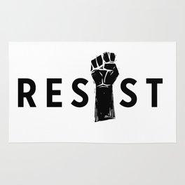 Resist Fist Rug