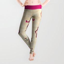 A39 Original Traditional Anthropologie Moroccan Texture. Leggings