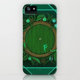 Halfling Holiday iPhone Case