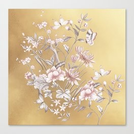 Chinoiserie Gold Canvas Print