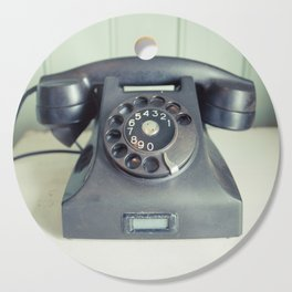 Old Rotary Telephone Cutting Board