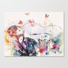dreamy insomnia Canvas Print