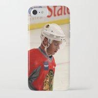 blackhawks iPhone & iPod Cases featuring jonathan toews // chicago blackhawks by Hattie Trott