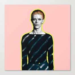 pinky bowie zx Canvas Print