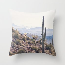 Superstition Wilderness Throw Pillow