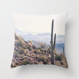 Superstition Wilderness of Arizona Throw Pillow