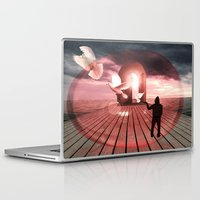 surrealism Laptop & iPad Skins featuring surrealism  by mark ashkenazi