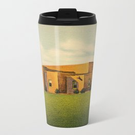 Old  Days in Albuquerque Metal Travel Mug
