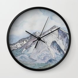 Spring  on Mount Sopris Wall Clock