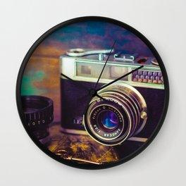 Dad's Camera One Wall Clock