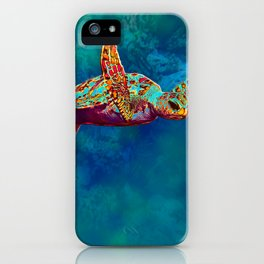 Flight of the Turtle iPhone Case