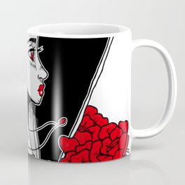Crimson Thought Coffee Mug