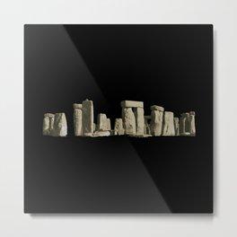 Stonehenge Rocks Metal Print
