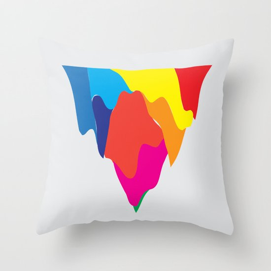 No. 3 Throw Pillow